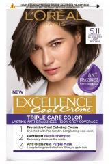 Loreal Paris Excellence Col Creme barva na vlasy 5.11 Ultra popelavá světlá