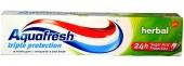 Aquafresh zubní pasta Herbal 100 ml
