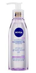 Nivea Cleansing Oil Soothing Grape Seed zklidňující čisticí olej pro citlivou pleť 150 ml