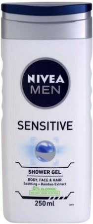 Nivea sprchový gel Men Sensitive 250 ml