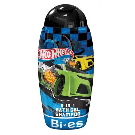 BI-ES sprchový gel 2v1 Hot Wheels Carbonic 250 ml